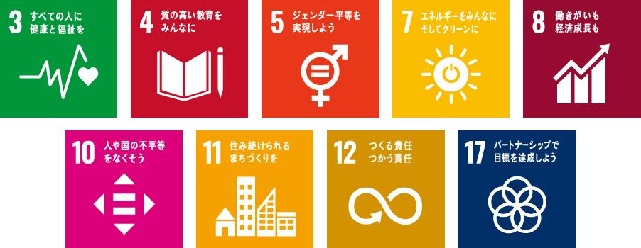 持続可能な社会の実現に向けて仙台ヘアメイク専門学校が目指す9つの目標