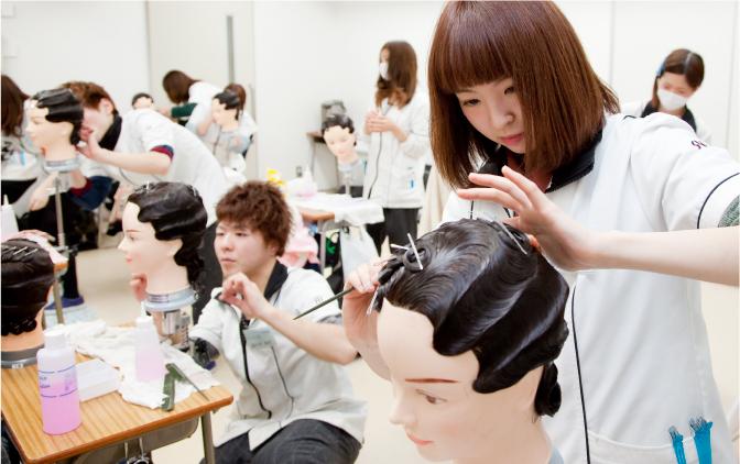 美容師国家試験課題